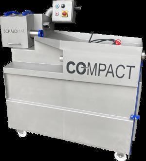 vollautomatische Schälmaschine mit integrierter Absaugung