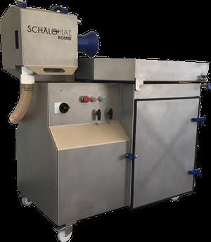 Vollautomatische Würstchenschälmaschine